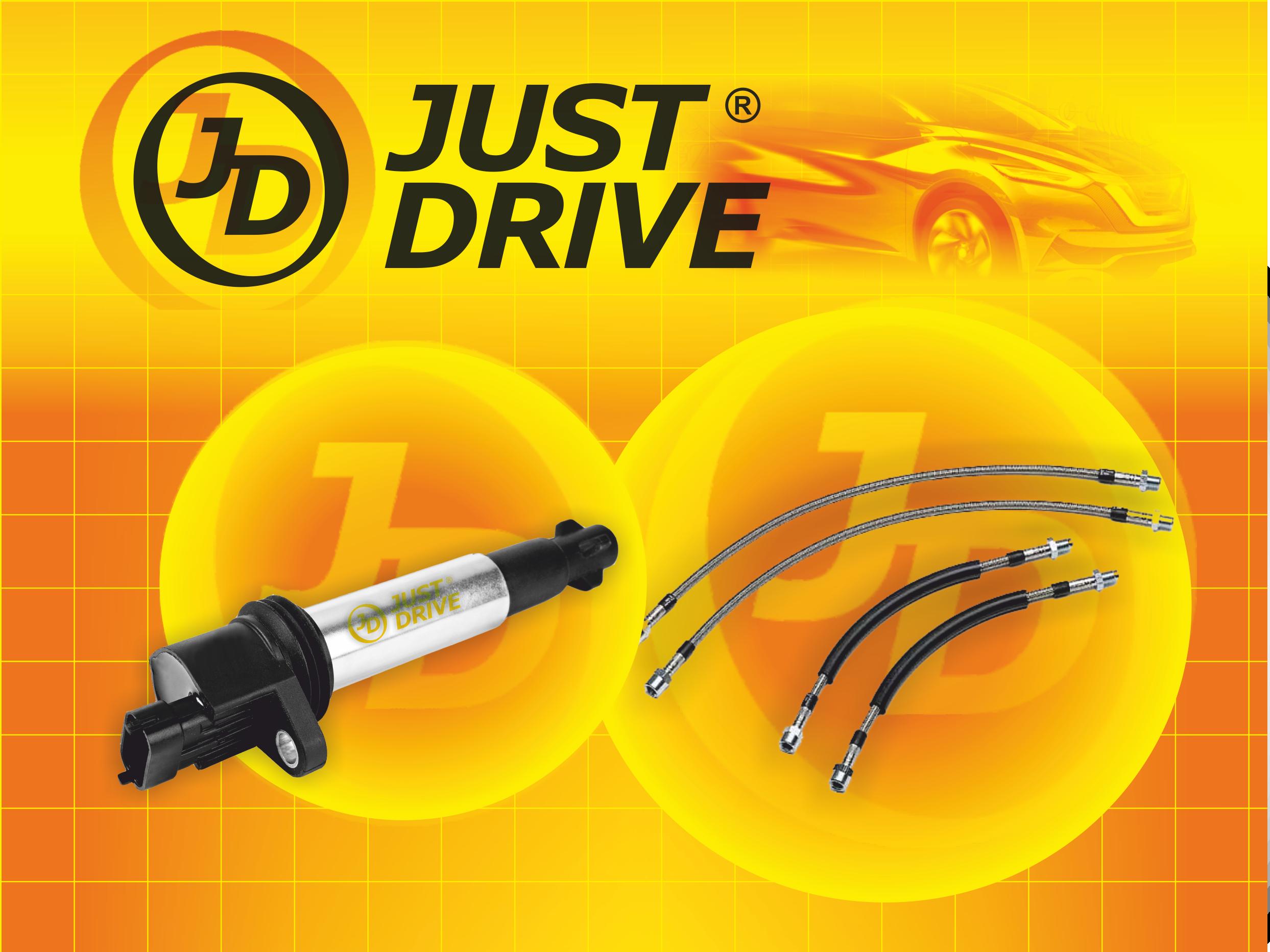 Новые товарные группы продукции «Just Drive»